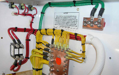 Wiring Harness Adhesive Application